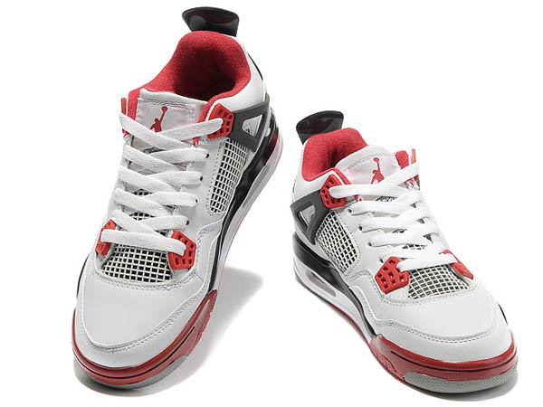 nike air pas cher ,Nike AIR Jordan 4 Femme lanc Noir Rouge [Air