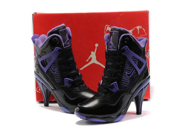 détaillant en ligne 839c9 df558 air 6 retro rose,Nike Air Jordan talon haut femme 4 IV noir ...