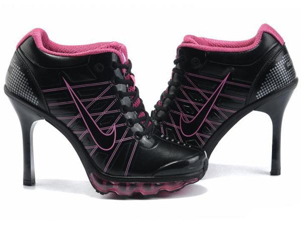grande vente a305c 30bcd pas cher pour ,Nike Coussin d'air Talon Haut 9 IX Femme Noir ...